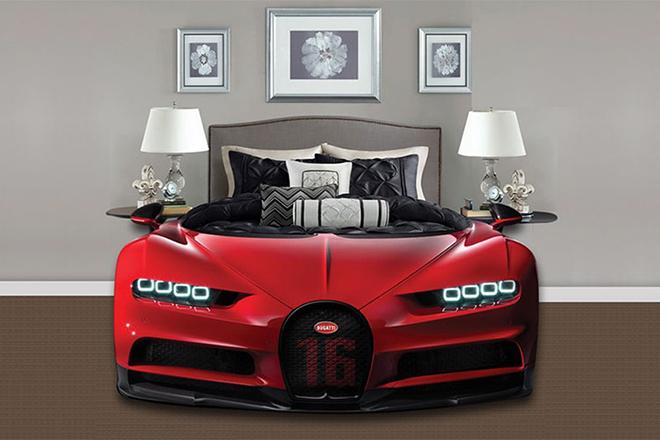 """Bugatti Chiron phiên bản """"giường ngủ"""" trông sẽ như thế này này - 6"""