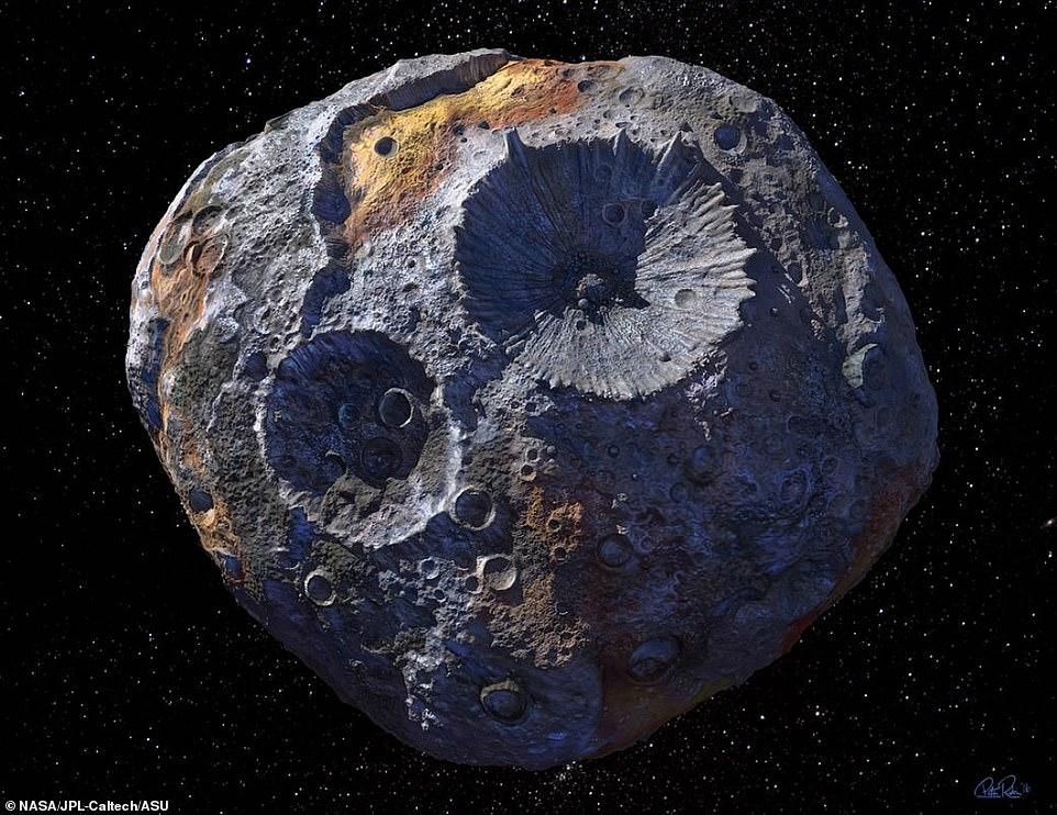 Phát hiện gây sốc về tiểu hành tinh chứa kho báu 10.000 triệu tỉ USD - 1