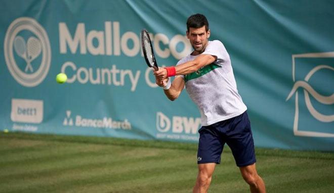 Djokovic gây sốc giải tiền Wimbledon, mỹ nữ Nga bị fan chê cười (Tennis 24/7) - 1
