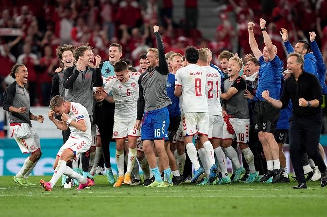 Bảng xếp hạng EURO: Vỡ òa Đan Mạch lách khe cửa hẹp, cùng Bỉ - Hà Lan đi tiếp - 1