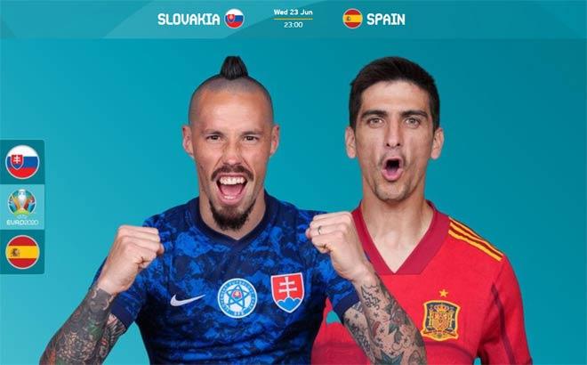 """Nhận định trận HOT EURO: Tây Ban Nha đấu """"sinh tử"""" Slovakia, Ba Lan mơ kỳ tích - 1"""