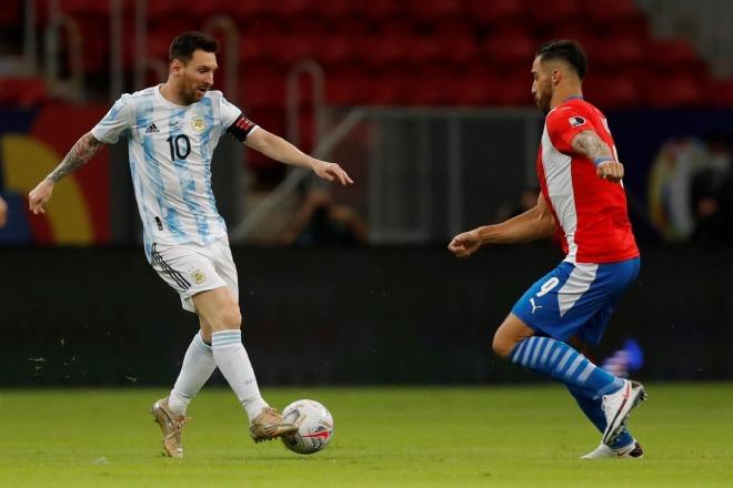Video Argentina - Paraguay: 10 phút bùng nổ, xây chắc ngôi đầu (Copa America) - 1
