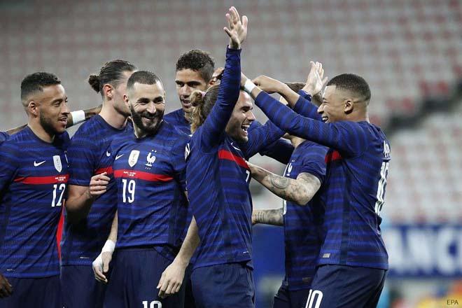 """Đặt cược vô địch EURO 2020: """"Vua thế giới"""" Pháp mất uy thế, Anh tụt dốc thảm hại - 1"""