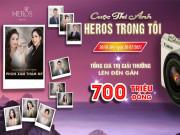 """Tư vấn làm đẹp - Plmed Việt Nam tài trợ cho cuộc thi ảnh online """"Heros trong tôi"""" do Eros Việt Nam tổ chức"""