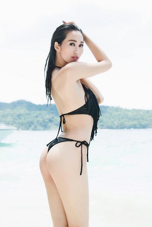 """Khánh My khoe vẻ đẹp hình thể đạt """"chỉ số vàng"""" với bikini - 3"""
