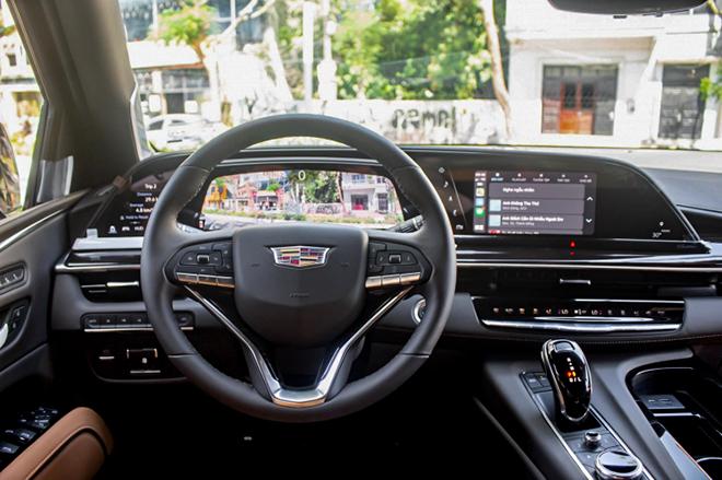 Cadillac Escalade mới trang bị động cơ V8 đầu tiên có mặt tại Việt Nam - 12