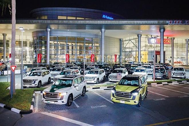 """Toyota Land Cruiser 2022 siêu ngầu """"trong vai"""" xe cảnh sát Dubai - 1"""