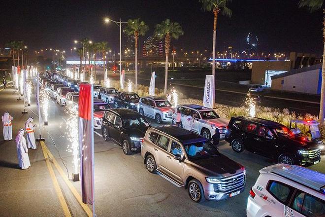"""Toyota Land Cruiser 2022 siêu ngầu """"trong vai"""" xe cảnh sát Dubai - 8"""