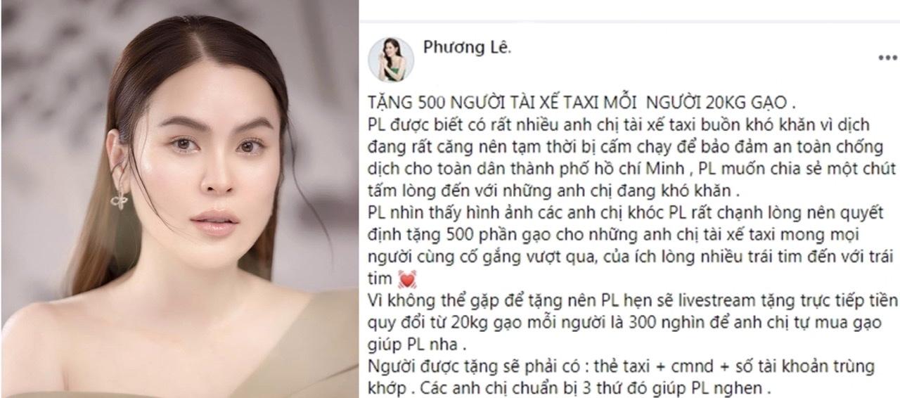 """""""Hoa hậu ở nhà 200 tỷ"""" livestream tặng tiền tài xế taxi gây tranh cãi dữ dội vì cách cho - 1"""