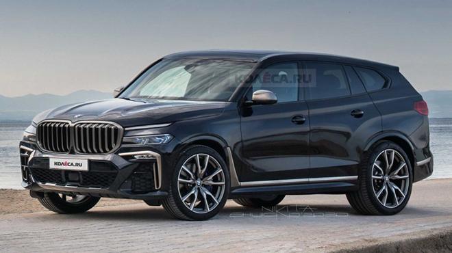 BMW X8 lộ ảnh chạy thử, cạnh tranh phân khúc SUV hạng sang - 1