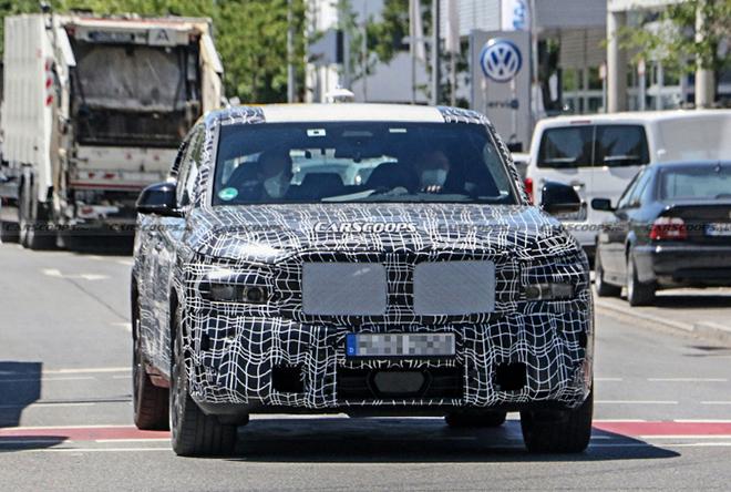 BMW X8 lộ ảnh chạy thử, cạnh tranh phân khúc SUV hạng sang - 5