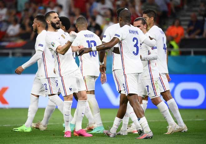 Đội tuyển ấn tượng nhất vòng bảng EURO: Ý, Bỉ toàn thắng vẫn kém Pháp? - 1