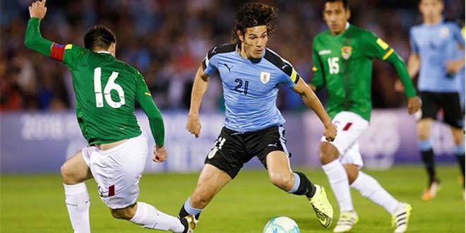 Video Bolivia - Uruguay: Cavani tỏa sáng, định đoạt vé vào tứ kết - 1