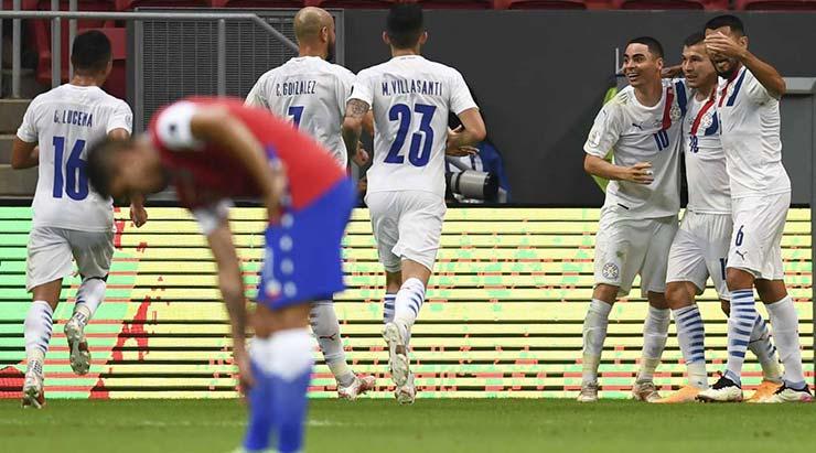 Video Chile - Paraguay: SAO Newcastle tỏa sáng, định đoạt trên chấm 11m (Copa America) - 1