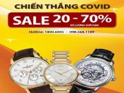 """Thế giới thời trang - """"Giật mình"""" cơn bão giảm giá 70% - Nhận ngay 50 triệu đồng cùng Đăng Quang Watch"""