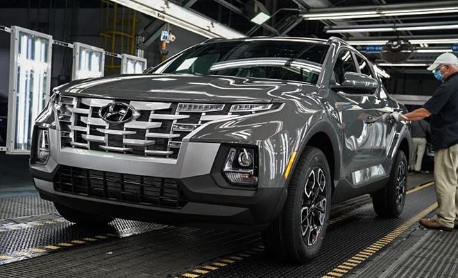 Xe bán tải Hyundai chính thức sản xuất hàng loạt - 1