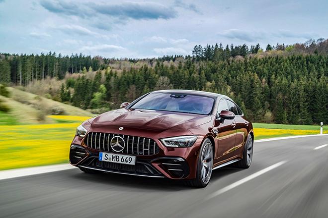Xe hiệu suất cao Mercedes-AMG GT có thêm biển thể 4 cửa mới - 5