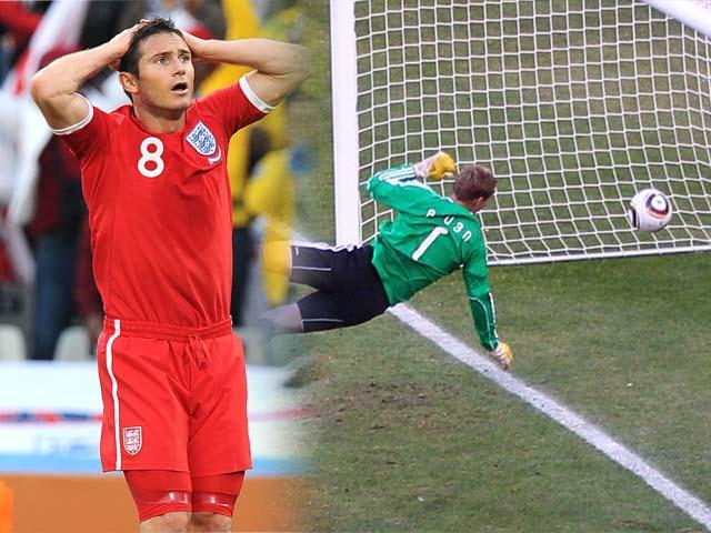 """5 trận kinh điển Anh - Đức: Lampard bị """"cướp"""" bàn thắng, 2 lần ôm hận vì 11m - 1"""