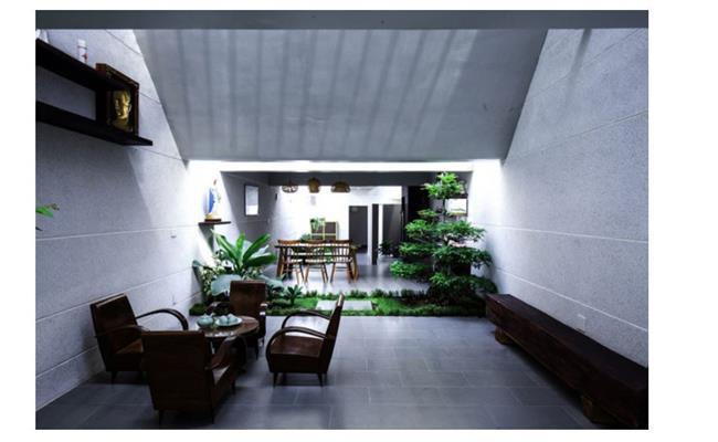 """Những năm gần đây, rất nhiều công trình kiến trúc đẹp mắt ở Việt Nam đã được báo Mỹ """"để mắt"""" tới, trong đó có không ít công trình là nhà cấp 4."""