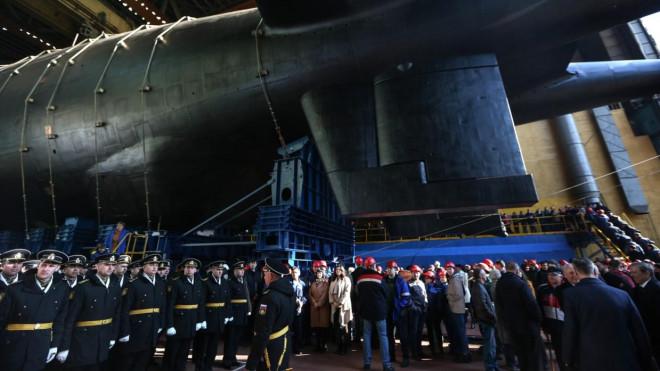 Nga thử nghiệm siêu tàu ngầm lớn nhất thế giới - 1
