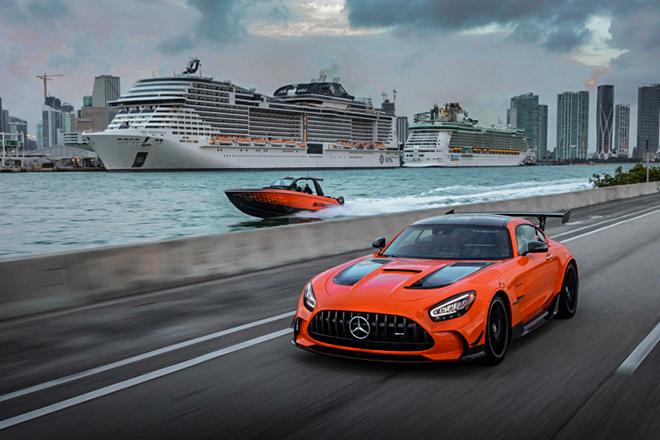Ngắm siêu tàu cao tốc lấy cảm hứng từ mẫu xe Mercedes-AMG GT Black Series - 1