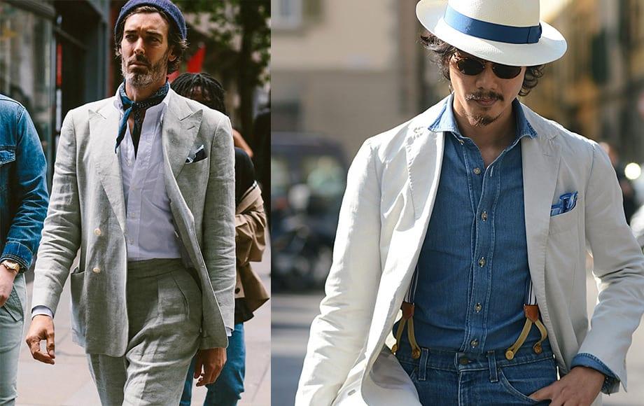 Hè này, quý ông đều nên có một bộ suit vải lanh - 1