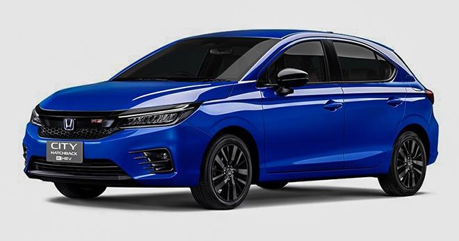 Honda City bản Hatchback có thêm biến thể sử dụng động cơ lai Hybrid - 1