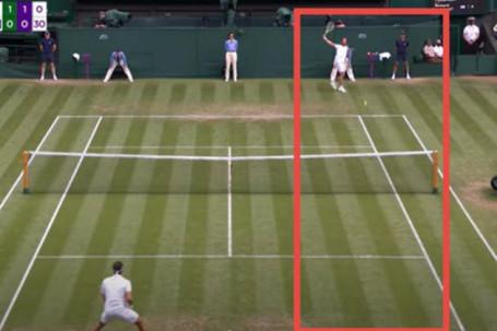 """Tuyệt chiêu Wimbledon: Zverev """"chào cờ"""" vì cú lốp, Federer dính đòn trái 1 tay"""