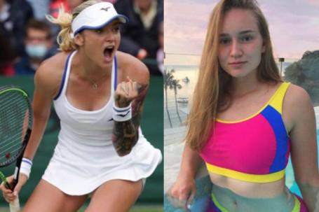 Mỹ nhân đua sắc đua tài, 2 chân dài cao 1m8 ghi dấu ấn ở Wimbledon