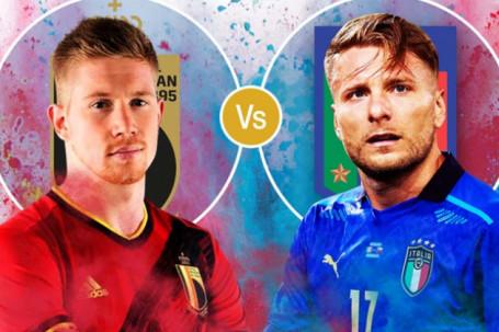 Nhận định bóng đá Bỉ - Italia: Đại chiến đỉnh cao, chờ đại tiệc bàn thắng (Tứ kết EURO)