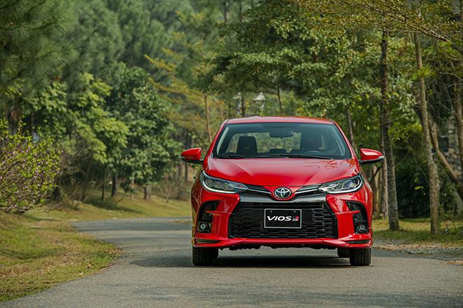 Giá xe Toyota Vios niêm yết và lăn bánh tháng 7/2021 - 1