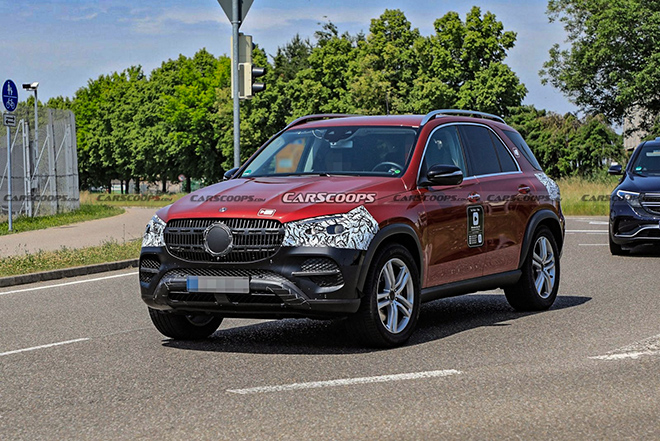 Mercedes-Benz GLE bản nâng cấp mới bị bắt gặp trên đường thử - 1