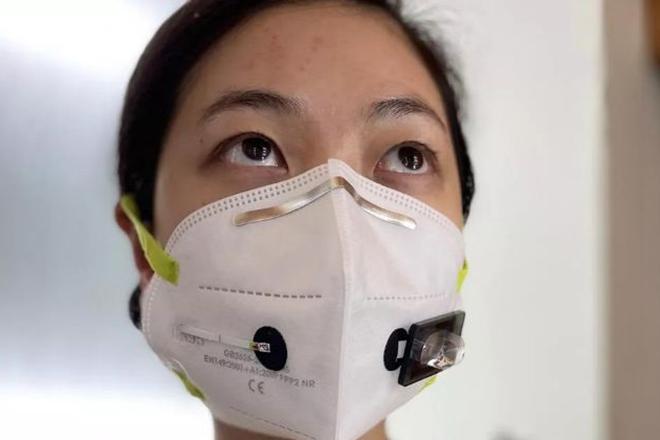 Mỹ: Khẩu trang giúp phát hiện SARS-CoV-2 trong hơi thở - 1