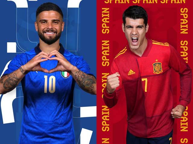 2 anh hào vào bán kết EURO: Đại chiến Italia - Tây Ban Nha rung chuyển châu Âu - 1