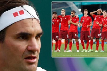 """Thụy Sĩ thua Tây Ban Nha EURO 2020, Federer đăng ảnh """"quay xe"""" thần bí"""