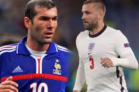 SAO MU Luke Shaw kiến tạo 2 bàn trong 3 phút 51 giây, vượt mặt Zidane tại EURO