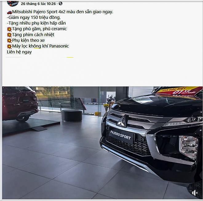Mitsubishi Pajero Sport sản xuất năm 2020 giảm giá sâu với số lượng hạn chế - 3