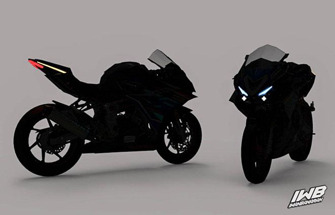 Chiêm ngưỡng bản dựng thiết kế cực chất của Honda CBR250RR 2022 - 1