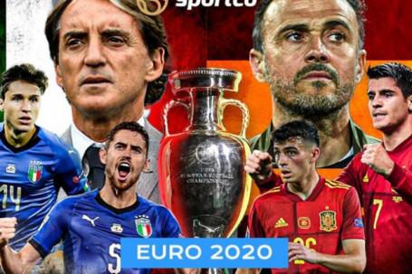 """Nhận định bóng đá Italia – Tây Ban Nha: Ân oán chồng chất, """"một mất một còn""""(Bán kết EURO)"""