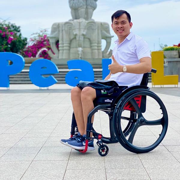 Cảm phục nghị lực sống của chàng trai khuyết tật Tính Vĩnh Long: Sống là cống hiến không ngừng nghỉ - 1