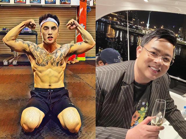 Ca nhạc - MTV - Bằng tuổi nhau, Ưng Hoàng Phúc và Quang Lê có body khác xa thế nào?