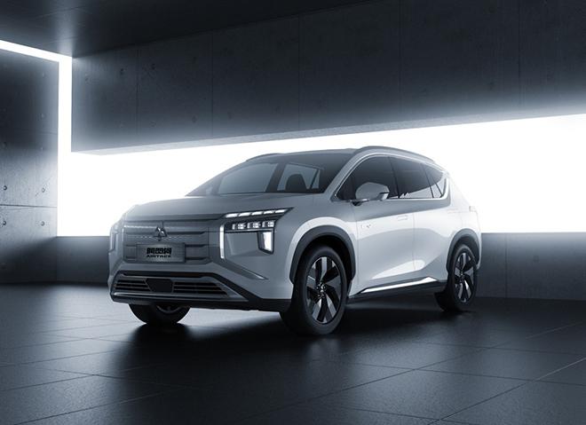 Mitsubishi vén màn SUV chạy điện hoàn toàn mới có tên gọi Airtrek EV - 1