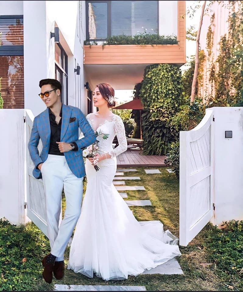 Diễn viên Phương Oanh lộ ảnh cưới, chú rể phản ứng bất ngờ - 1