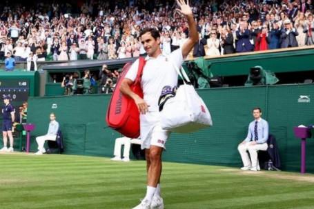 Federere chia tay Wimbledon bằng set thua 0-6, cân nhắc có nên giải nghệ