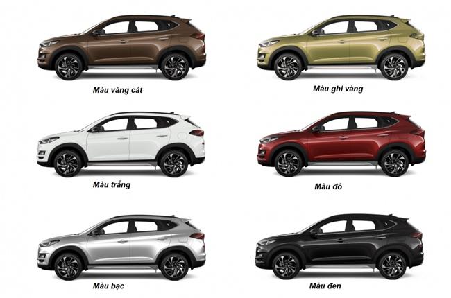 Giá xe Hyundai Tucson tháng 7/2021 mới nhất đầy đủ các phiên bản - 1