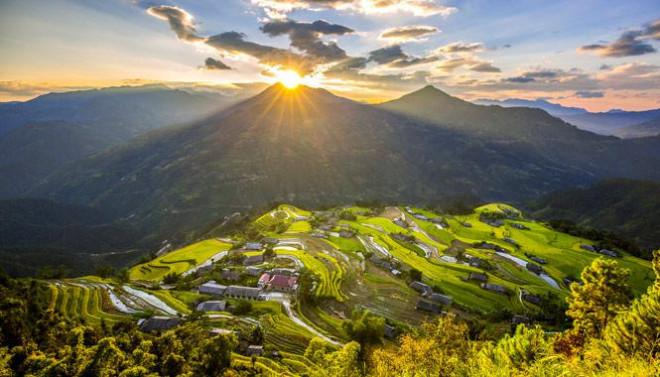 Ruộng bậc thang Hoàng Su Phì: ''Bản hòa tấu'' nơi núi rừng Đông Bắc - 1