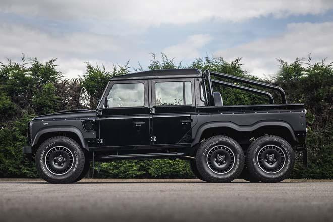 """""""Hàng hiếm"""" Land Rover Defender bản độ 6 bánh về tay đại gia Campuchia - 7"""