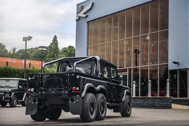 """""""Hàng hiếm"""" Land Rover Defender bản độ 6 bánh về tay đại gia Campuchia - 8"""