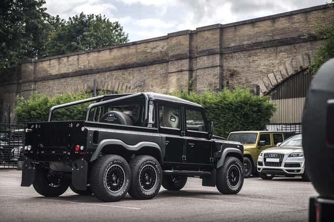 """""""Hàng hiếm"""" Land Rover Defender bản độ 6 bánh về tay đại gia Campuchia - 14"""
