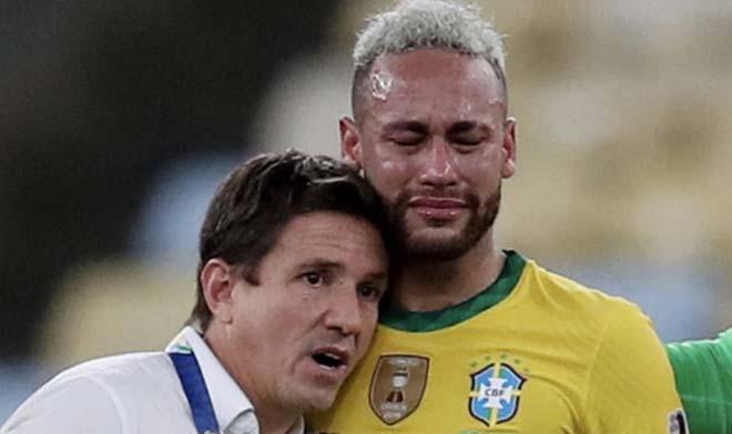 Lộ cảnh Messi - Neymar cởi trần cười đùa, HLV Argentina hé lộ sốc về M10 - 1
